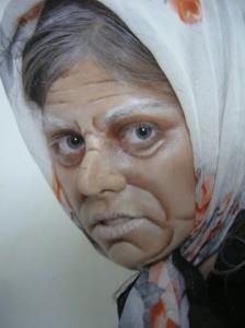 איפור סבתא לפורים