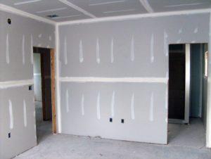עבודות גבס - בניית קירות ותקרה