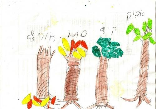 עונות השנה בציורי ילדים - המשך ותוספת.