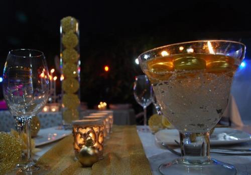 כלי זכוכית לנרות