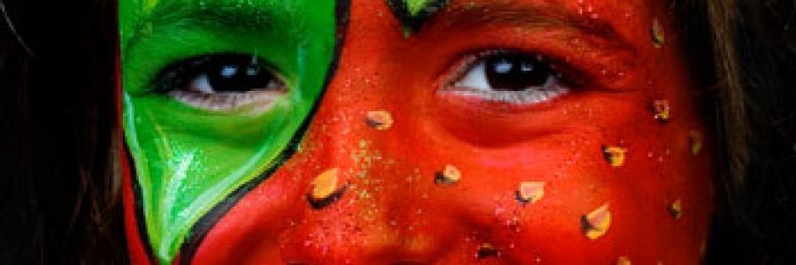 איפור תות לפורים