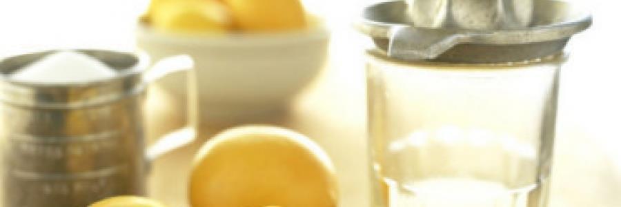 מיץ לימון – ניקוי רעלים מהגוף, ובקלות