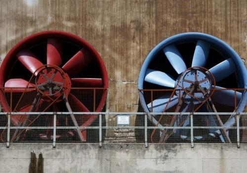 מאווררים למסחר לניקיון האוויר באזורים תעשייתיים